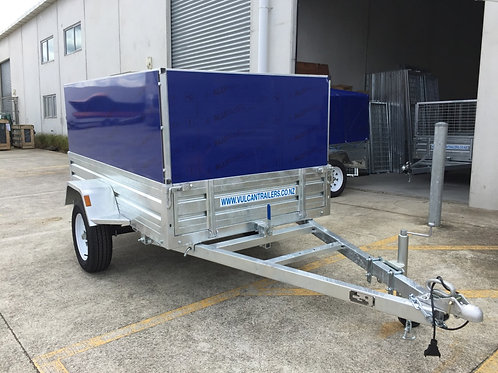 Vulcan Trailer - Caged, Welded & Bolted Hardsided