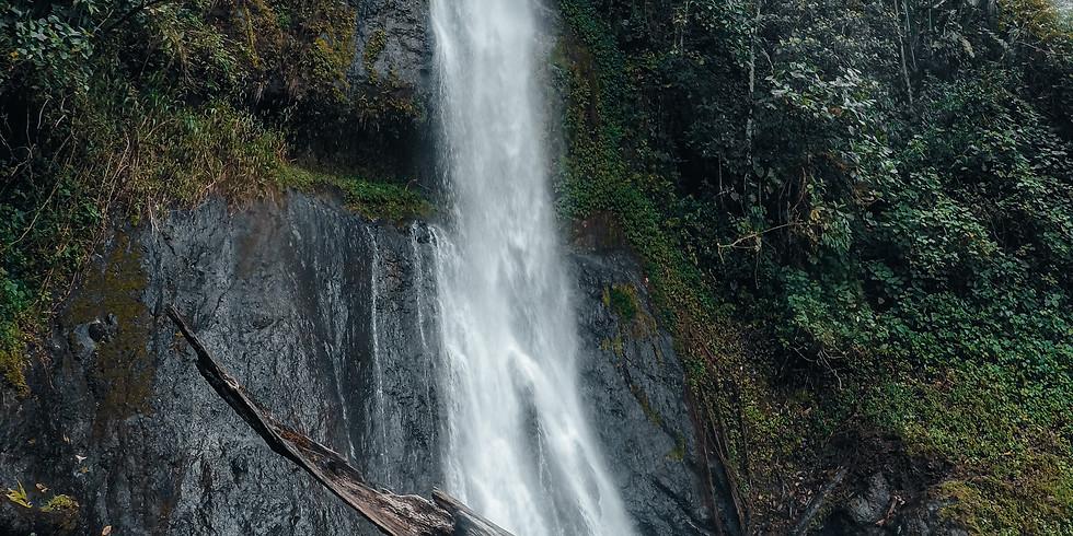 Cascada Mágica Chorro Blanco