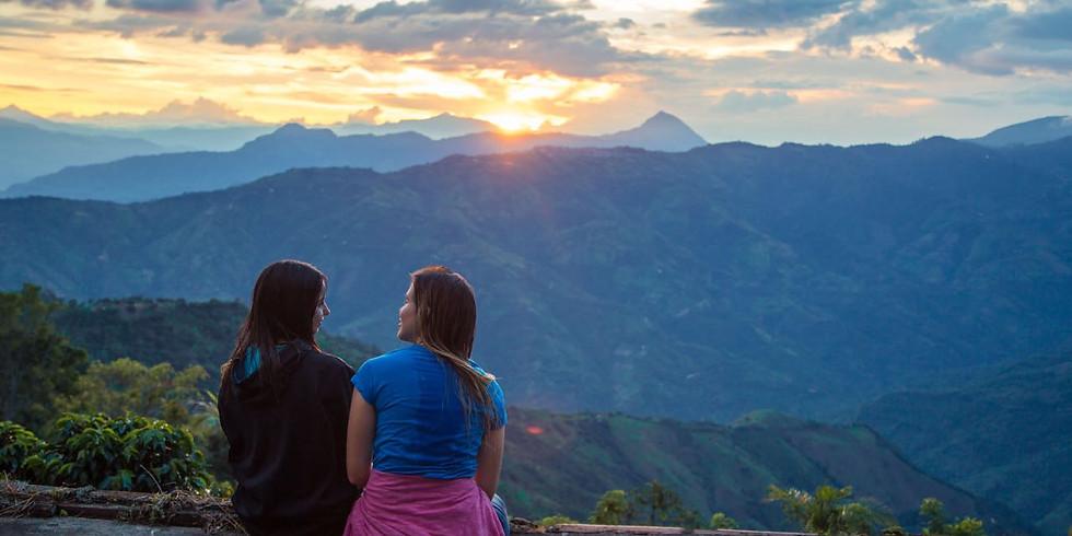 Escalada y Rappel para novatos en La Peña - Abejorral