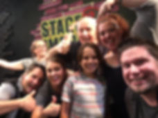 Fun Picture with Student Audience Member