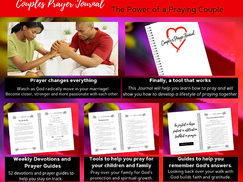 Couples Prayer Journal - The Power of a Praying Couple