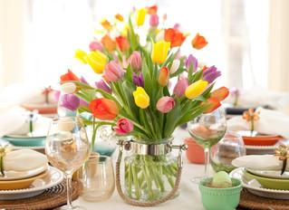 A Pasqua decora la tavola in modo originale
