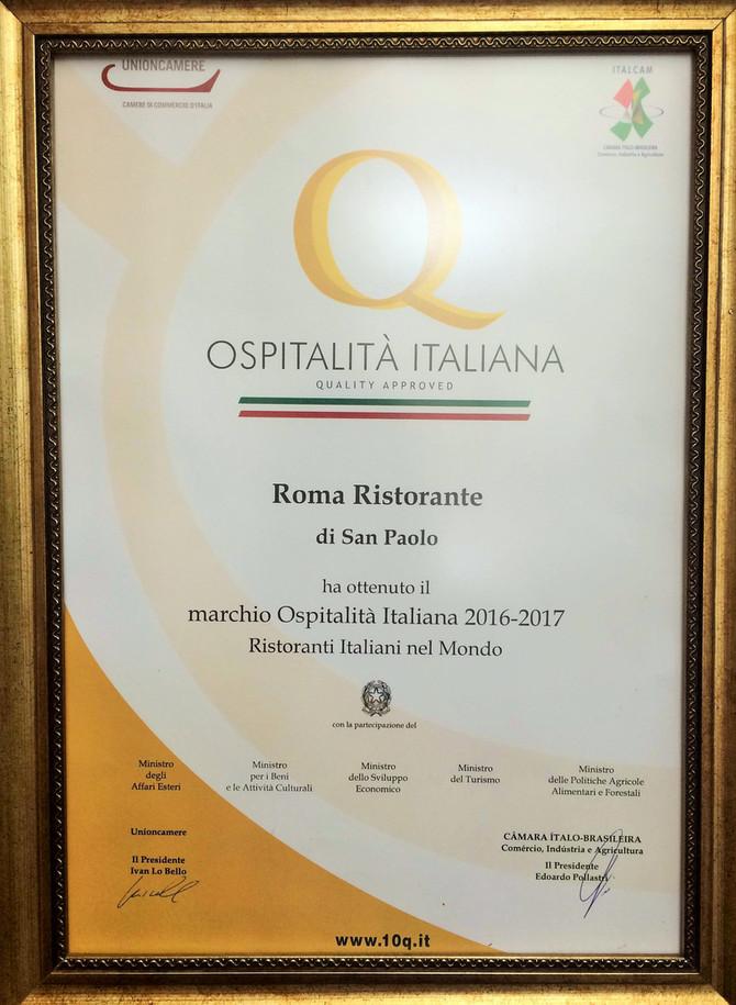 Ospitalità 2017