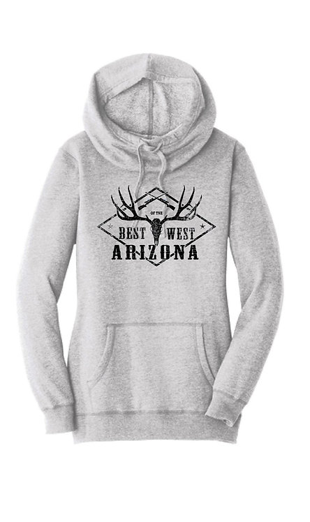 BOTWAZ Ladies Antler Hoodie (Multiple Colors)