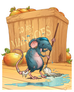Swabbie the Rat - Scallywag