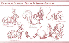 Animal Mounts Concept Art
