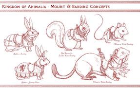 Animal Mounts Concept Art