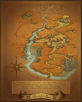 Marrok's Rest Map