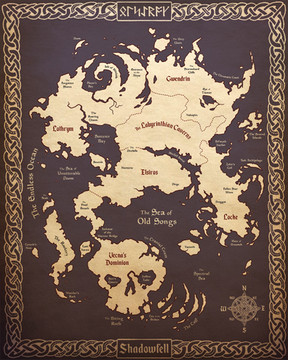 Map of the Shadowfell
