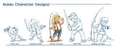 Kiddos Concept Art