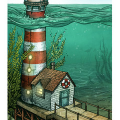 Sunken Lighthouse