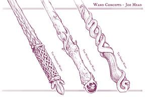 Magic Wands Concept Art