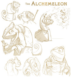 Alchemeleon Sketches