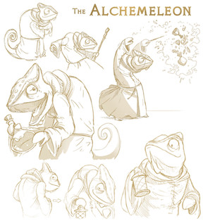 Alchemeleon Sketches