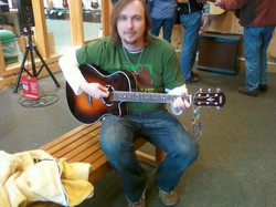 Picking out a new guitar