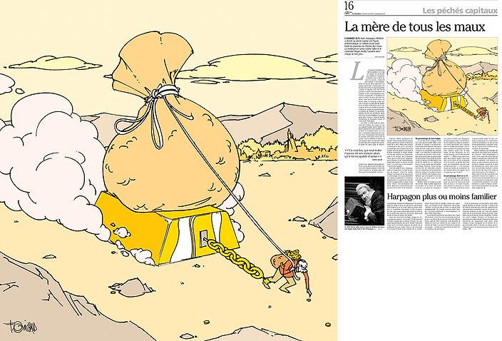 L'avarice_Frédéric_Michaud_illustration.