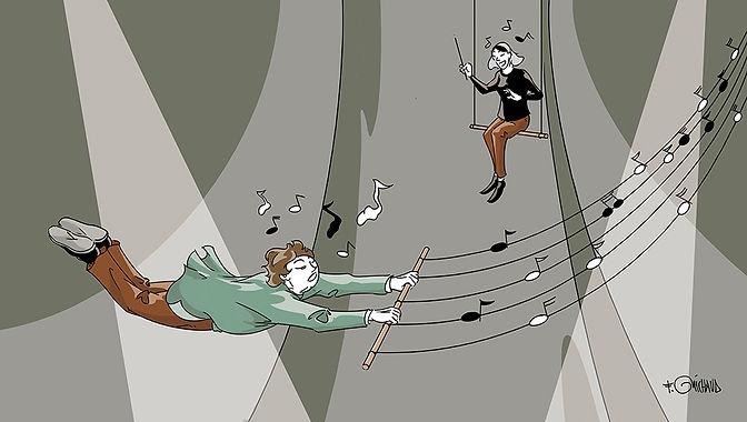 Gruyèriade Frederic Michaud illustration