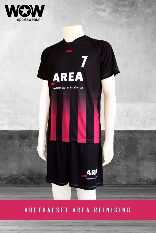 voetbalset area WOW sportswear