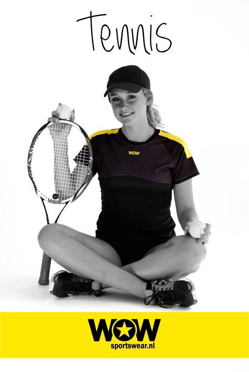 Tennisshirt WOW sportswear
