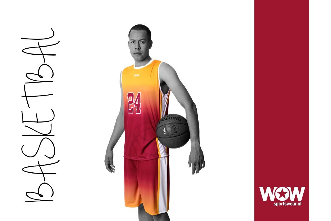 Basketbalshirt WOW sportswear