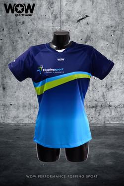 Popping sport shirt