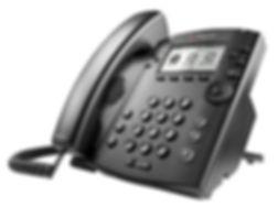 Polycom VVX300 Hosted VoIP