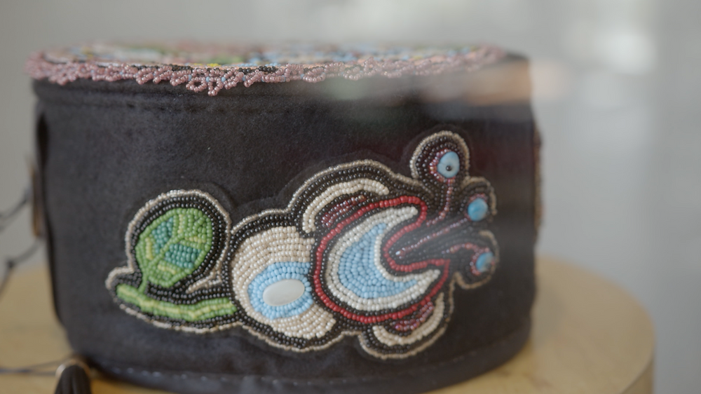 Traditional Métis Ceremonial Smoking Hat by Annette Sullivan