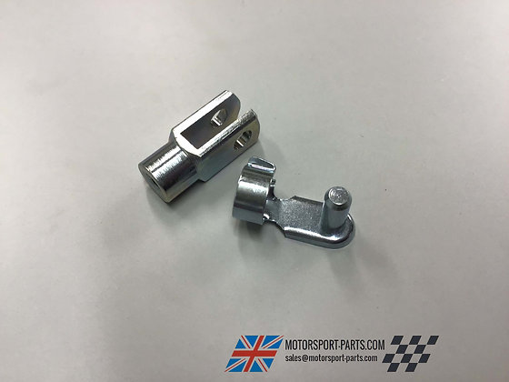 Short Brake Clevis 4mm with Pin