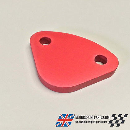 Classic Mini Fuel Pump Blanking Plate austin rover turbo track race rally