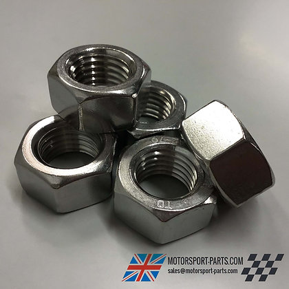 M24 Hex Full Nuts A2 Stainless (2 or 5 per pack)