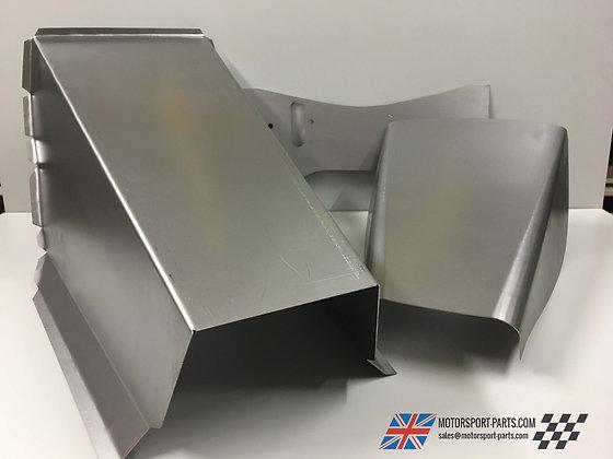Gear Box Tunnel,Diff Tunnel & Bulk Head Reinforcing Plate, Escort MK1/2
