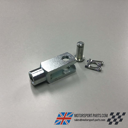 Long Brake Clevis 10mm with Pin