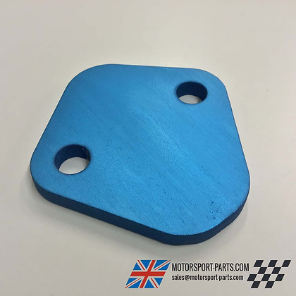 Ford X-Flow Fuel Pump Blanking Plate (BLUE)