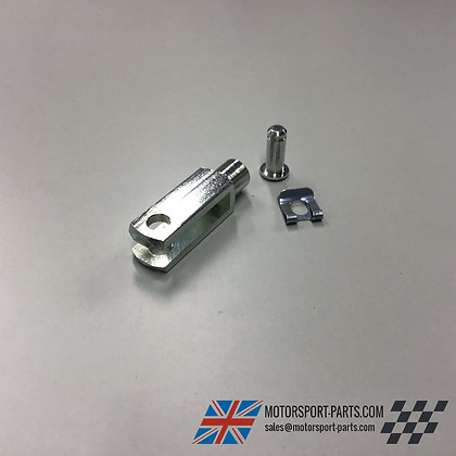 Long Brake Clevis 6mm with Pin