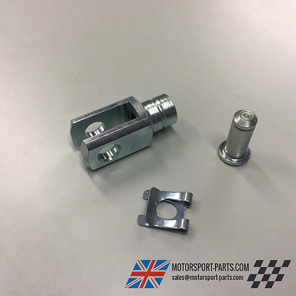 """Short Brake Clevis 1/4"""" UNF with Pin"""