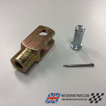 "Short Brake Clevis 3/8"" UNF with Pin"