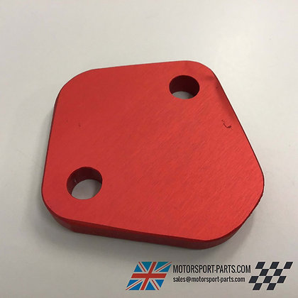 Ford X-Flow Fuel Pump Blanking Plate (RED)