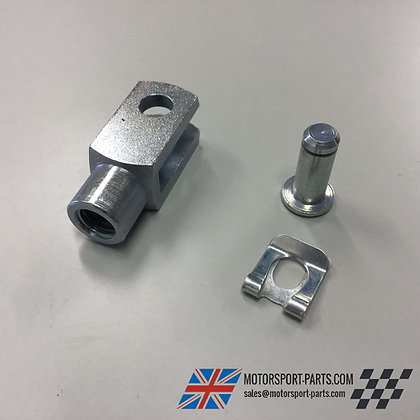 Short Brake Clevis 10mm with Pin