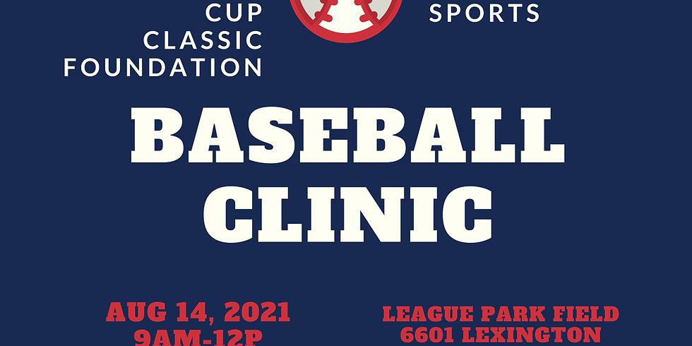 Community Cup Classic Youth Baseball Clinic