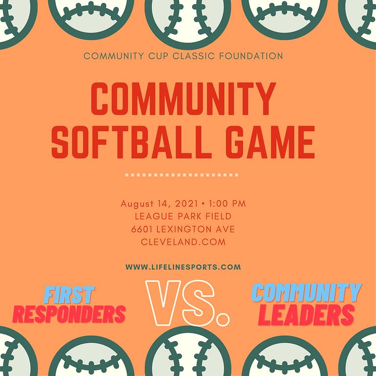 Community Cup Classic Community Softball Game
