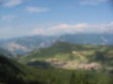 Foto panoramica Val di Gresta Trentino