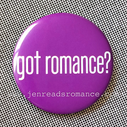 Button: Got Romance?