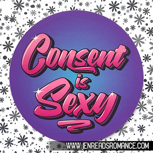 Sticker: Consent is Sexy