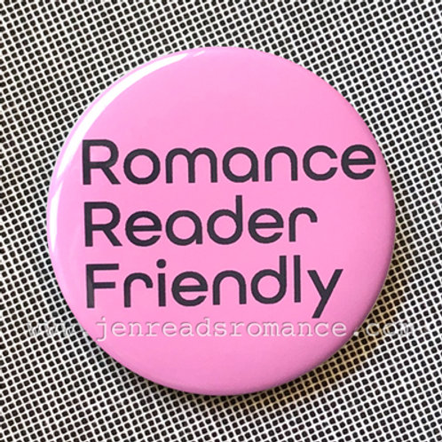 Button: Romance Reader Friendly