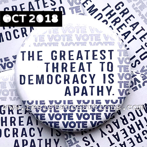 THE GREATEST THREAT TO DEMOCRACY...