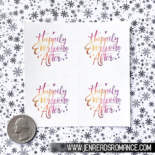 Sticker Sheet: Happily Everyone After
