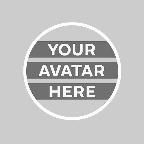 Custom Avatar Button