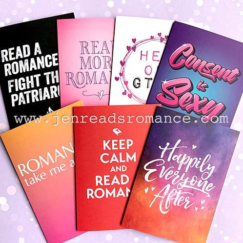 Romancelandia Notecard Pack