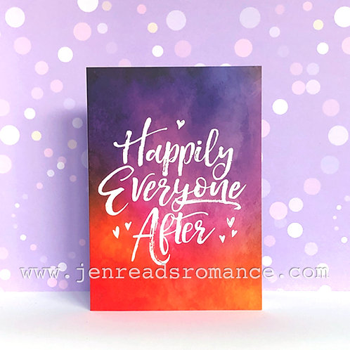 Notecard: Happily Everyone After