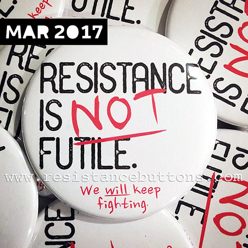 RESISTANCE IS NOT FUTILE.